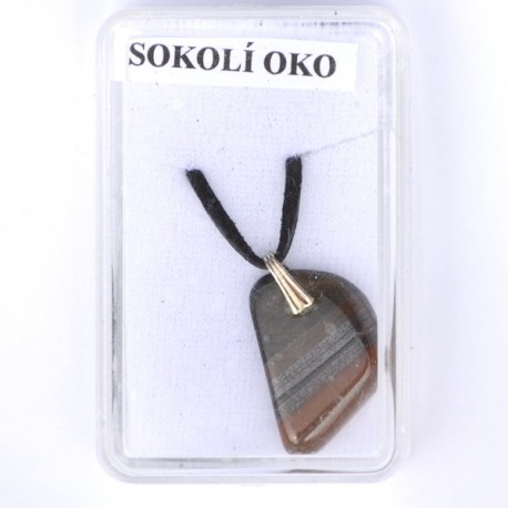 Kamenný šperk - Sokolí oko