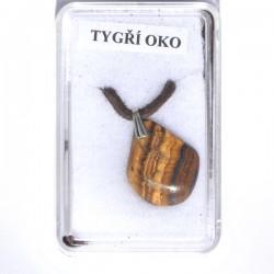 Kamenný šperk - Tygří oko