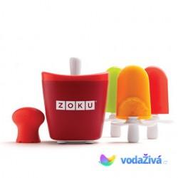 Zmrzlinovač Zoku Single - výroba nanuků z ovocné šťávy