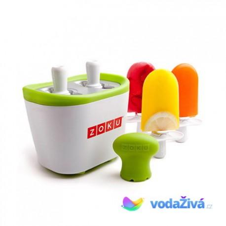 Zmrzlinovač Zoku Single - výroba nanuků z ovocné šťávy  nebo jogurtu