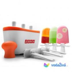 Zmrzlinovač Zoku Triple - výroba nanuků z ovocné šťávy nebo jogurtu
