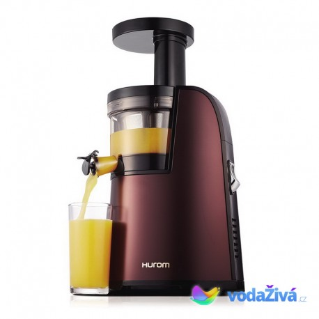 HUROM 6 - HG Premium - čokoládová barva - odšťavňovač Hurom Slow Juicer - ORIGINAL