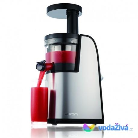 HUROM HG Premium 2. gen SBE11, typ L (s páčkou) - stříbrná - šnekový odšťavňovač Hurom Slow Juicer - ORIGINAL