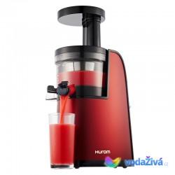 HUROM HG Premium 2. gen, typ L (s páčkou) - vínová - šnekový odšťavňovač - rozbalený na výstavku, nepoužitý