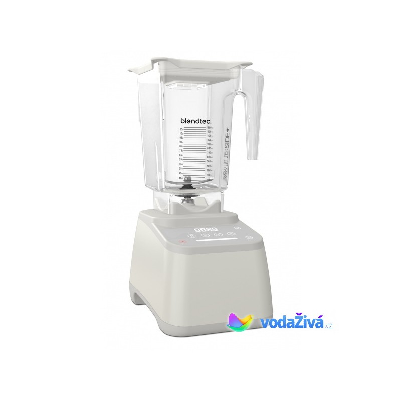 Blendtec Designer Series 625 mixér bílý - 3QT nádoba (2,83l) WildSide Plus, 1560W - ORIGINÁL + CD Re