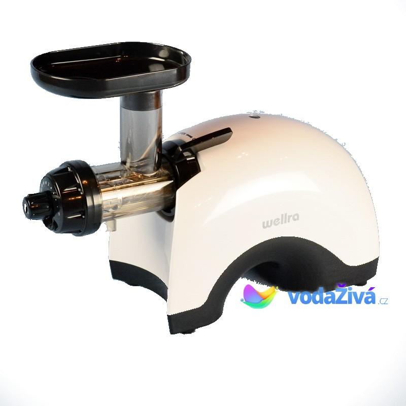 Wellra Twin Gear - bílý - dvouhřídelový odšťavňovač