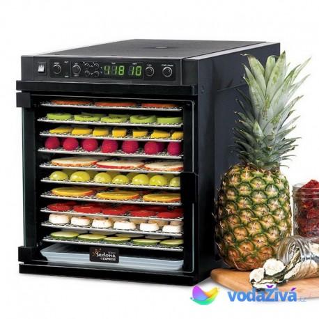Sedona Express SDE-P6780 - sušička potravin, 11 nerez sít, digitální časovač