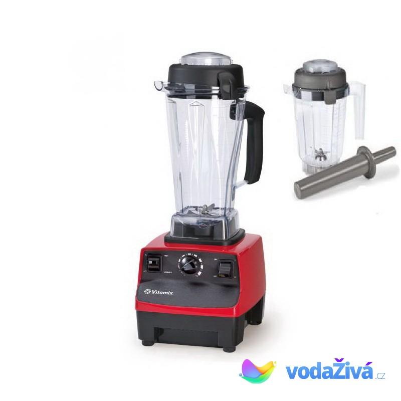 Vitamix TNC 5200 Super - barva červená - profi mixér - 2l nádoba + nádoba na suché suroviny 0,