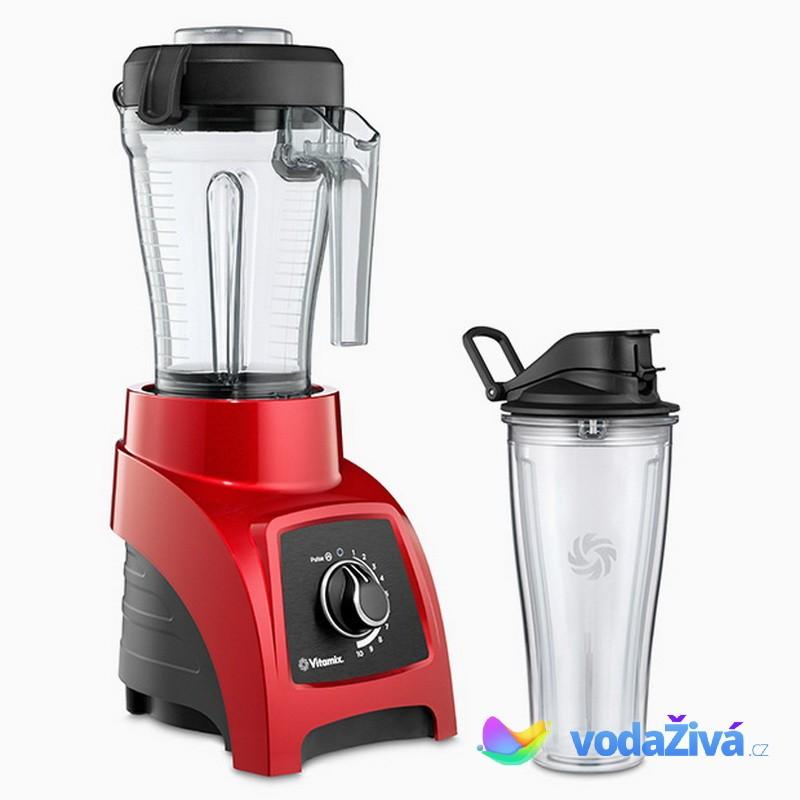 Vitamix S30 - barva červená - osobní mixér - nádoba 1,2 l a nádoba 0,6 l Mix&Go