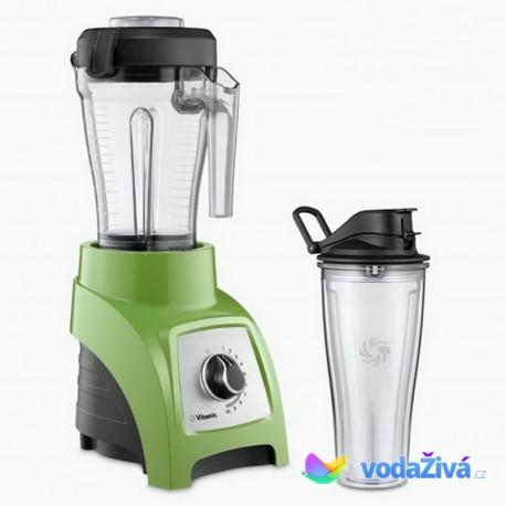 Vitamix S30 - barva zelená - osobní mixér - nádoba 1,2 l a nádoba 0,6 l Mix&Go