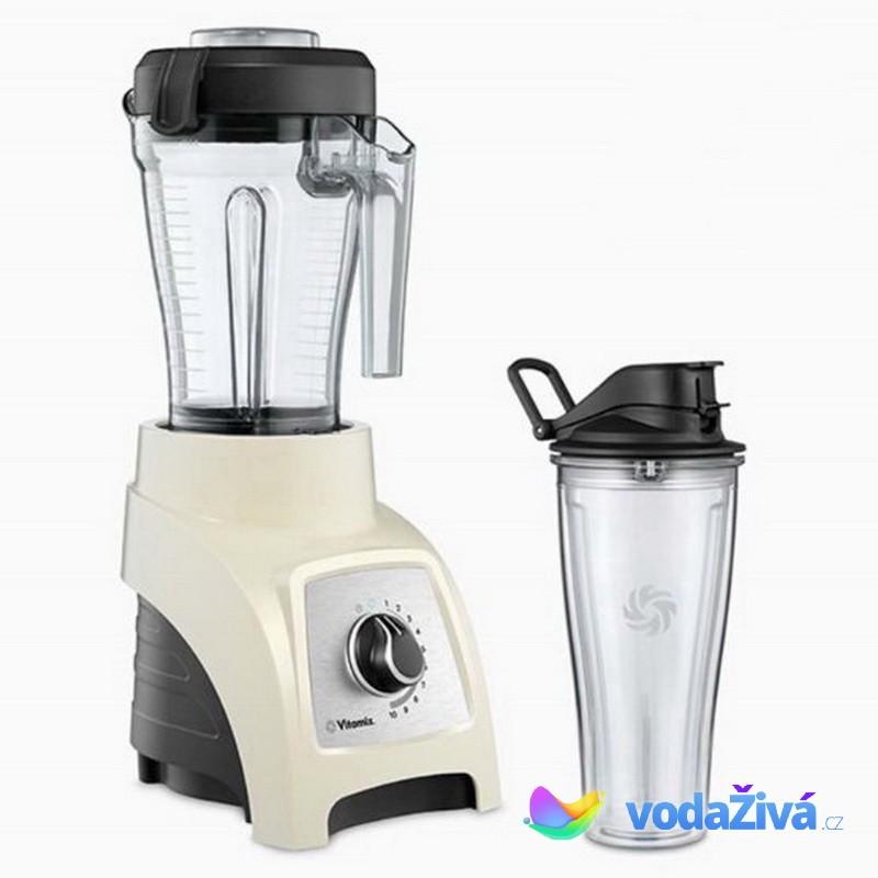 Vitamix S30 - barva krémová - osobní mixér - nádoba 1,2 l a nádoba 0,6 l Mix&Go