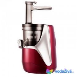 HUROM H-AE Alpha Plus - 3. gen - vínová barva - Giugiaro designový luxusní šnekový odšťavňovač, Alfa