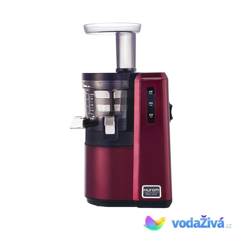 HUROM HZ Alpha - vínová barva - NEREZ luxusní šnekový odšťavňovač 3. generace + CD Relax (259Kč) + 2x eBook o šťávách (900Kč) + dárek dle výběru + Doprava ZDARMA Hurom (Jižní Korea)