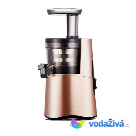 HUROM H-AA Alpha - 3. gen - barva zlatá růže - luxusní šnekový odšťavňovač H-AA-LBE17, Alfa