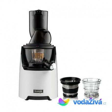 Kuvings EVO 820 W_M Exclusive - bílý matný šnekový odšťavňovač + sítka na smoothies a zmrzlinu