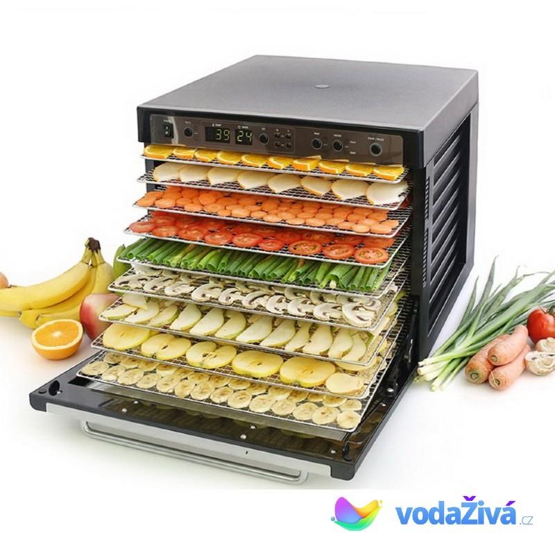 Sedona Combo SD-S9150 - sušička potravin, 9 NEREZ sít, digitální časovač - ORIGINAL + eBook Zdraví a sušené plody (490Kč) + doprava ZDARMA Sedona 0093757091988