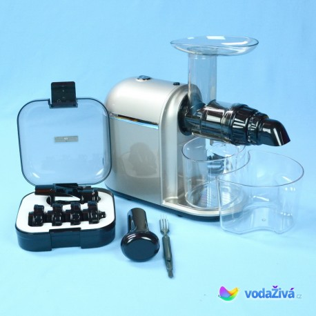 HUROM GH Chef - 200W - barva stříbrná - šnekový odšťavňovač Hurom Slow Juicer GH-SBE06 - ORIGINAL