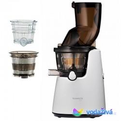 Kuvings C9820GW_M Exclusive - bílý matný šnekový odšťavňovač + sítka na smoothies a zmrzlinu