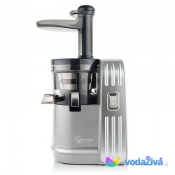 Sana Juicer EUJ-828 stříbrná - Luxusní šnekový odšťavňovač