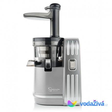 Sana Juicer EUJ-828 barva stříbrná - luxusní šnekový odšťavňovač