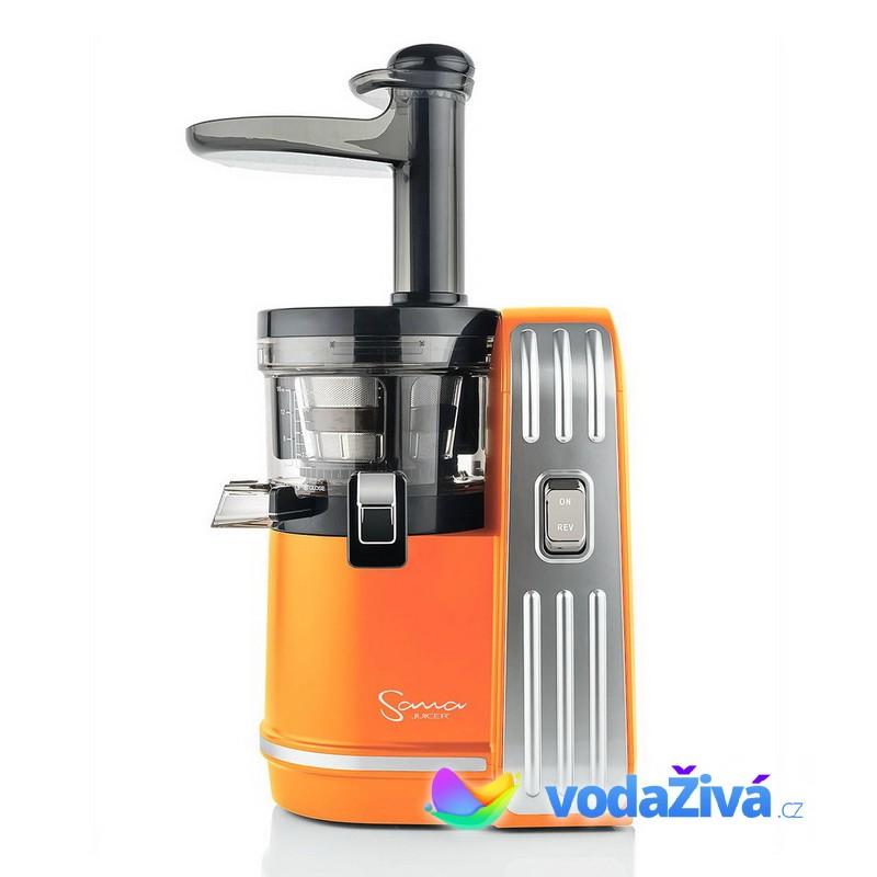 Sana Juicer EUJ-828 - oranžová matná barva - Luxusní šnekový odšťavňovač + CD Relax (259Kč) + 2x eBook o šťávách (900Kč) + dárek dle výběru + Doprava ZDARMA Sana Juicer (Jižní Korea) 8594179161409
