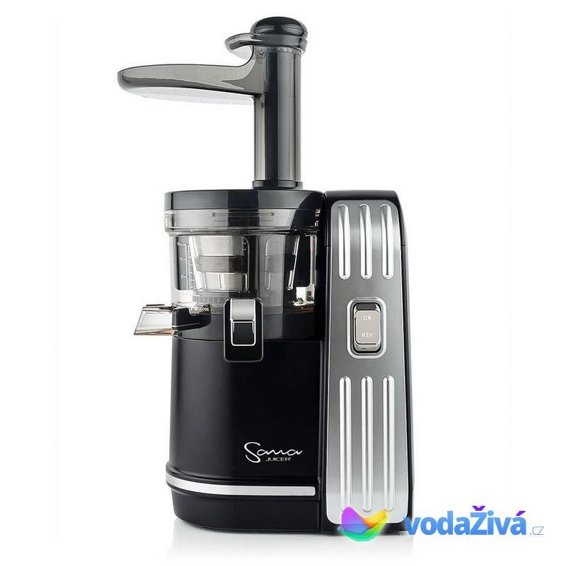 Sana Juicer EUJ-828 černá - Luxusní šnekový odšťavňovač + 2x eBook o šťávách (980Kč) + Doprava ZDARMA Sana Juicer (Jižní Korea)