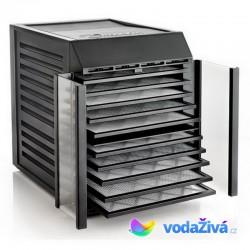 Excalibur RES10 - sušička potravin, 10 plastových sít, digitální časovač, 2 sušicí zóny