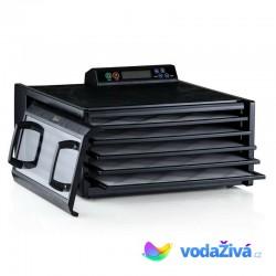 Excalibur 4548 CDFB - sušička potravin, 5 plastových sít, digitální časovač, barva černá
