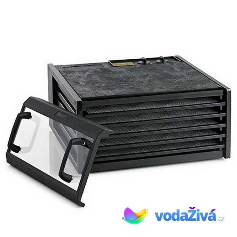 Excalibur 4526T BCD - sušička potravin, 5 plastových sít, analogový časovač, černá + eBook Zdraví a