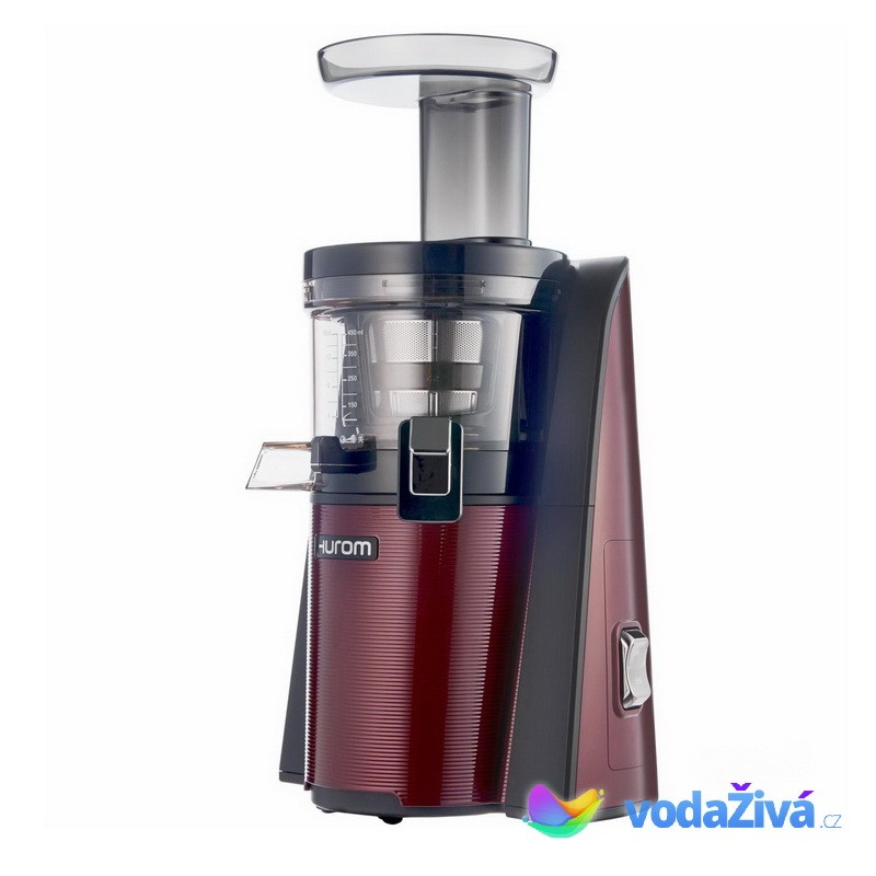 HUROM HV 2G - vínová barva - šnekový odšťavňovač - 2. generace + 2x eBook o šťávách (980Kč) + Doprava ZDARMA Hurom (Jižní Korea)