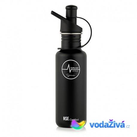 Filtrační láhev Sana 600 ml - barva černá