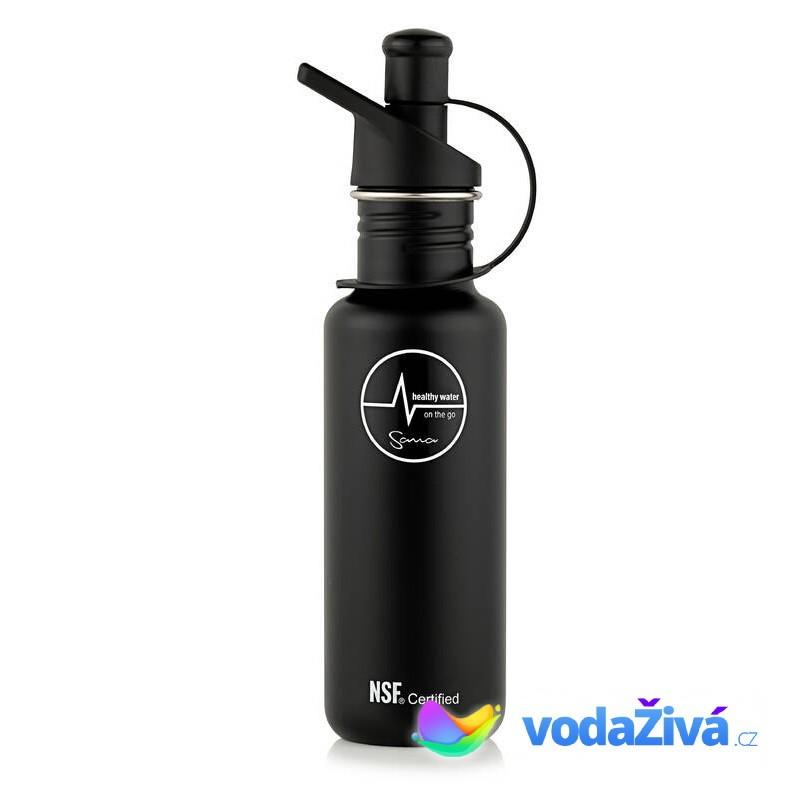 Filtrační láhev Sana 600 ml - barva černá - ORIGINÁL Sana