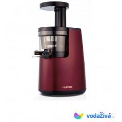 HUROM HH L - vínová barva - luxusní šnekový odšťavňovač 2. generace