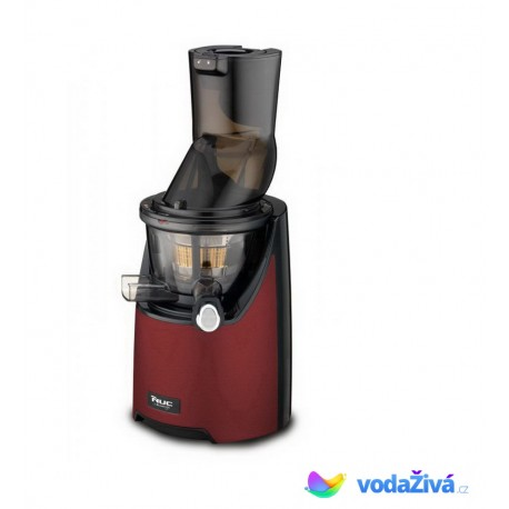 Kuvings EVO 820 DR_M Exclusive - tmavě červený matný šnekový odšťavňovač + sítka na smoothies a zmrzlinu