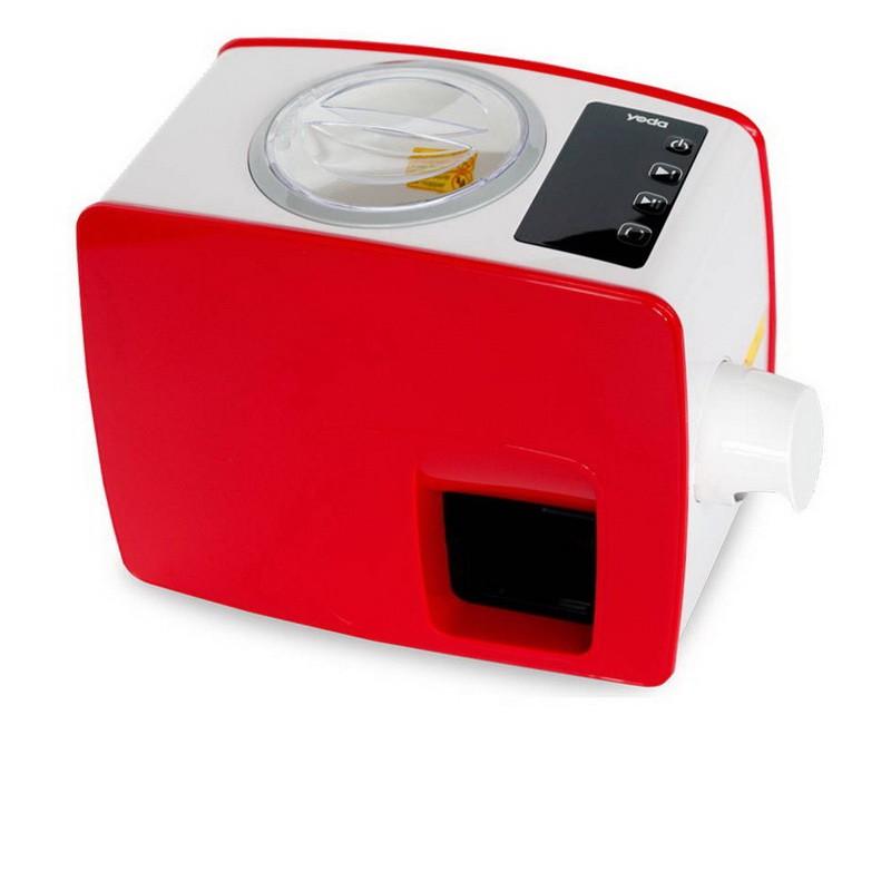 Lis Yoda - červená barva - domácí lis na výrobu oleje - panenský olej za studena - 2. generace - ORI