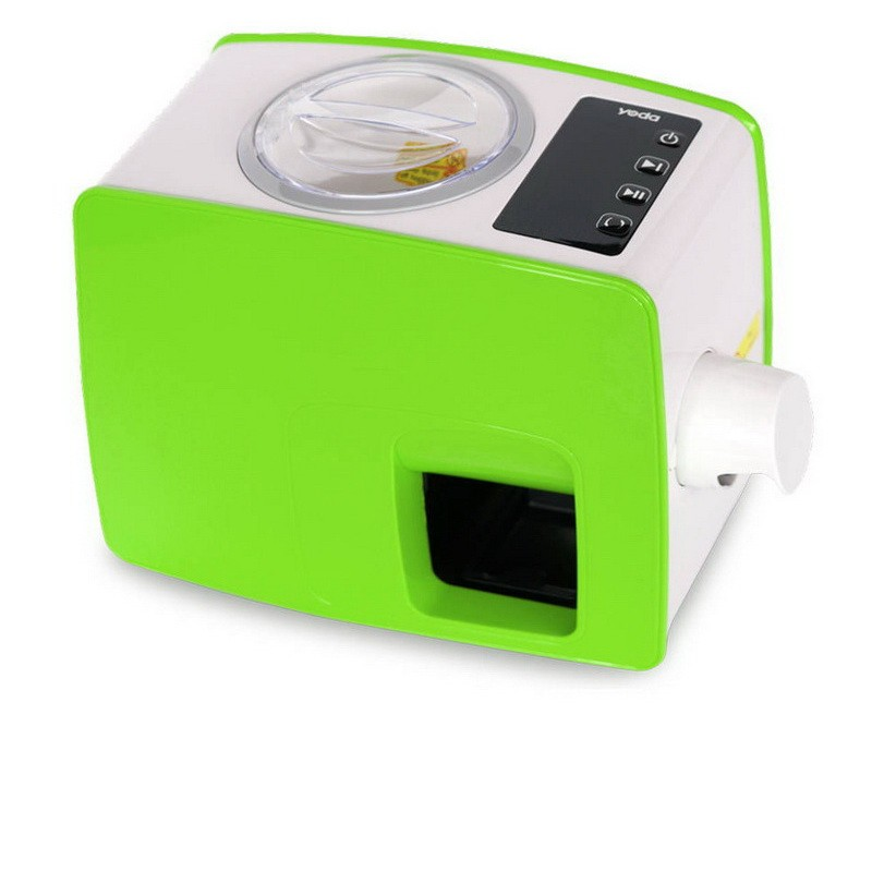 Lis Yoda - zelená barva - domácí lis na výrobu oleje - panenský olej za studena - 2. generace - ORIG