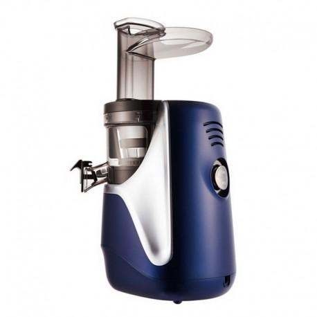 HUROM H-AE Alpha Plus - 3. gen - námořnická modrá barva - Giugiaro designový luxusní šnekový odšťavňovač, Alfa