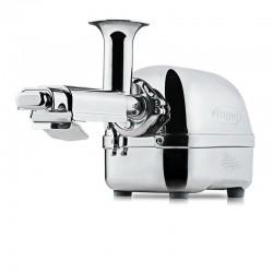 Angel Juicer 8500S - stříbrná nerez - chirurgická ocel - auto reverz - dvouhřídelový odšťavňovač - ORIGINAL