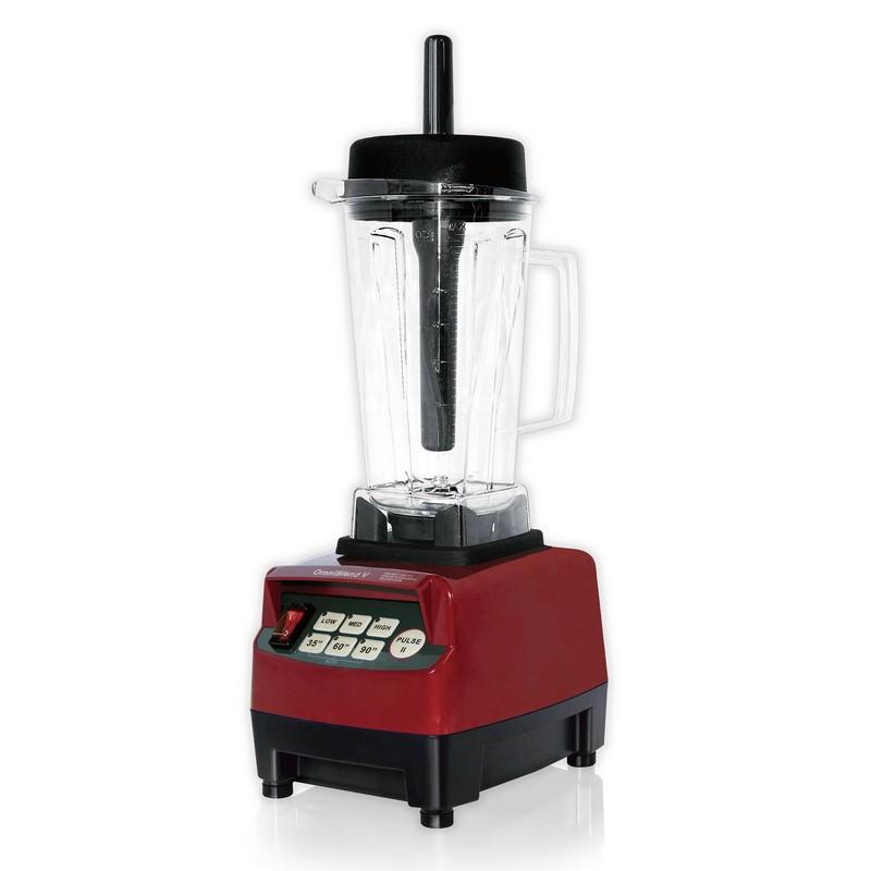OmniBlend V - TM-800A kvalitní profi mixér - barva bordó, červená, nádoba 2 litry - ORIGINÁL + CD Relax (259Kč) + 2x eBook o šťávách (900Kč) + dárek dle výběru + Doprava ZDARMA OmniBlend