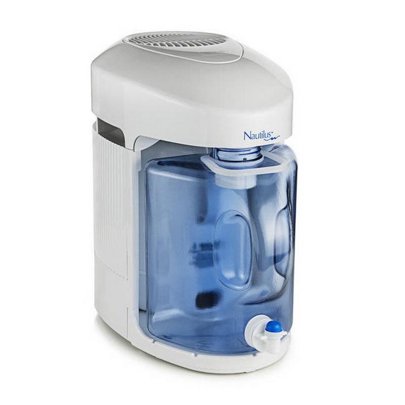 Nautilus - parní destilační přístroj s dokovací stanicí - na výrobu destilované vody - ORIGINAL USA + eBook Zdraví a voda (490Kč), + CD Relax (259Kč), + doprava ZDARMA Nautilus, USA