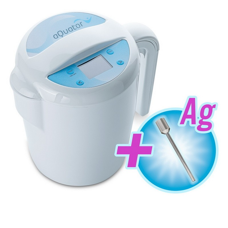 aQuator Silver - nejprodávanější ionizátor vody - mění pH pitné vody + eBook Zdraví a voda (490Kč) + doprava ZDARMA aQuator