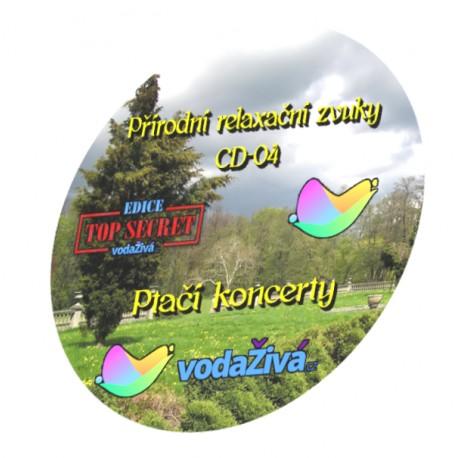 Ptačí koncerty - CD-04 - Přírodní relaxační zvuky
