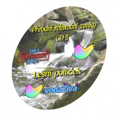 Lesní potůček - CD-11 - Přírodní relaxační zvuky