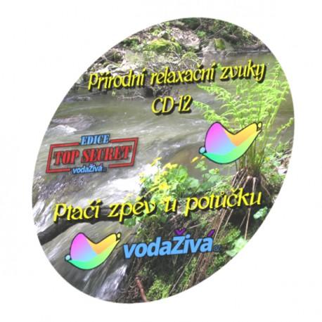 Ptačí zpěv u potůčku - CD-12 - Přírodní relaxační zvuky