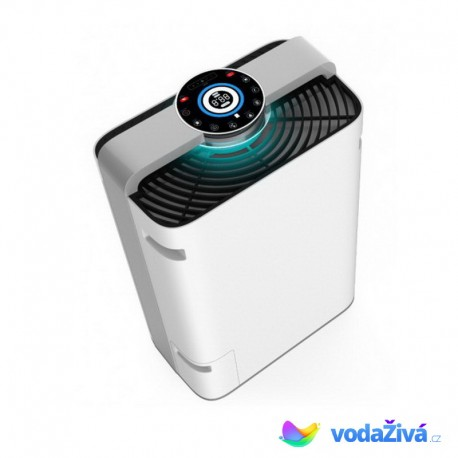 Čistička AIR ONE - domácí čistička vzduchu se zvlhčovačem, sterilizací UV světlem, ionizátorem a výkonem 488 m3/hod