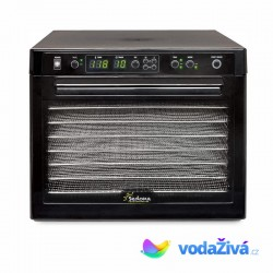Sedona SD-S9000 - sušička potravin, 9 nerez sít, digitální časovač, úsporné sušení, 2 větráky - ORIGINAL