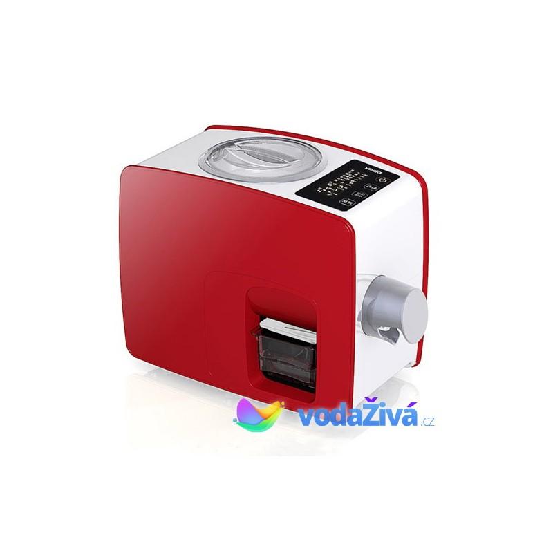 Lis Yoda - červená barva - domácí lis na výrobu oleje - panenský olej za studena - 2. generace - ORIGINAL