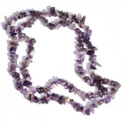 Kamenný náhrdelník - Ametyst