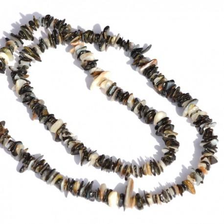 Kamenný náhrdelník - barevný