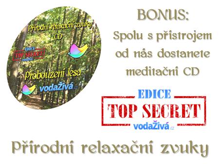 BONUS - CD - Přírodní relaxační zvuky